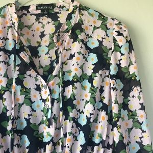 J. CREW FACTORY Floral Dress Sz S